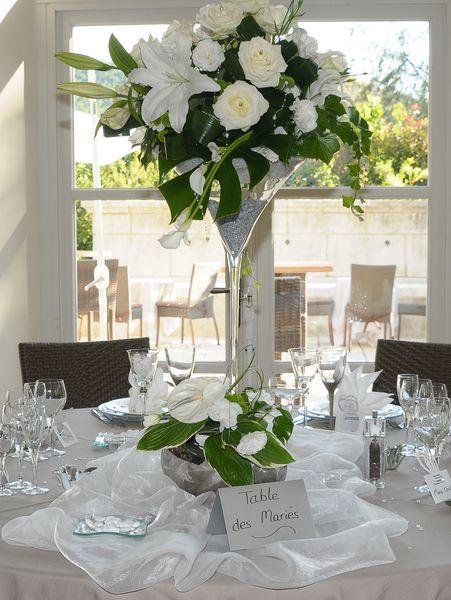 Galerie traiteur pouzadoux organisation mariage soir es - Decoration de vase pour mariage ...